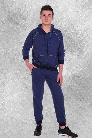 Костюм мужской Real Man, цвет синий, размеры 44-54