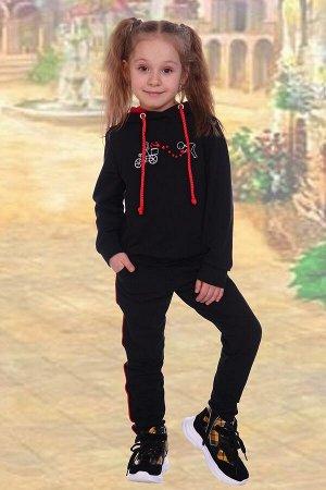 Костюм детский Love, цвет черный, размеры 122-140