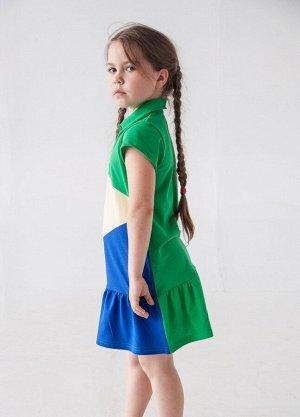 Платье Игра Цветов, цвет микс, размеры 28-40