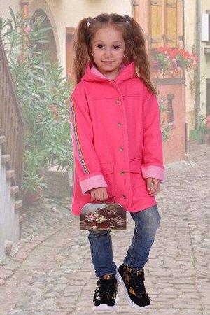 Пальто Радуга, цвет микс, размеры 116-146