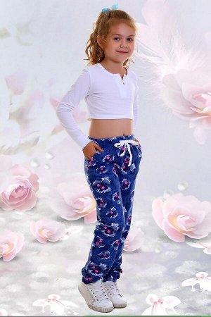 Брюки Модница, цвет синий, размеры 32-42