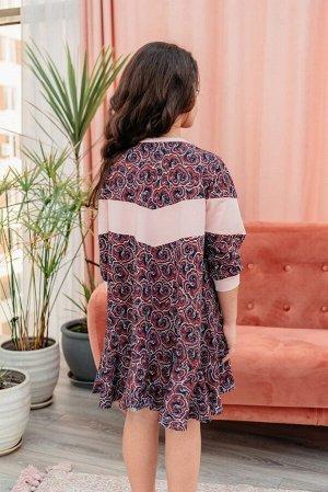 Платье Яркая Особа, цвет микс, размеры 28-38