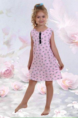 Сорочка для девочки Дашенька, размеры 32-42