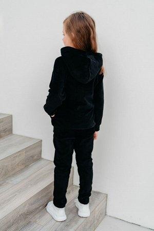 Костюм Винтаж, цвет сине-черный, размеры 28-36