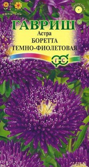 Астра Боретта темно-фиолетовая, однолетняя (принцесса) 0,3 г
