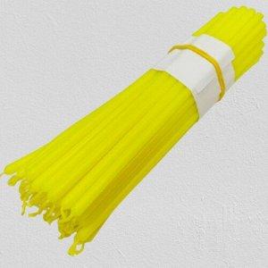 Восковая свеча ярко-желтая 1 час 5 штук
