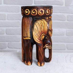 "Интерьерный стульчик ""Слон"" 29х18х18 см"