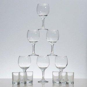 Мини-бар 12 предметов, гладье, белый 240/50 мл