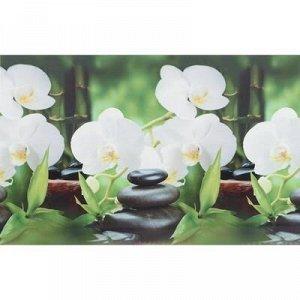 "Кухонный фартук ПВХ ""Белая орхидея"" 3000x600мм"