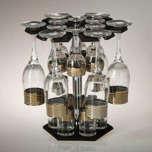 Мини-бар 18 предметов шампанское Карусель Скандивия темный 200/55/50 мл