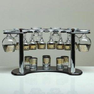 Мини-бар 18 предметов коньяк, флоренция, темный 380/55/50 мл