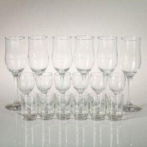 Мини-бар 18 предметов шампанское Карусель гладье, темный 200/55/50 мл