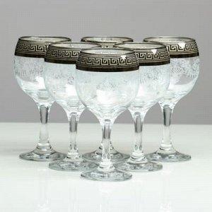 Мини-бар 6 предметов, Романтика Барокко (темный) 240 мл.