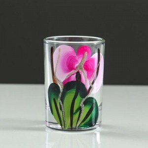 """Мини-бар """"Орхидея"""" 12 предметов, художественная роспись 240/50 мл"""