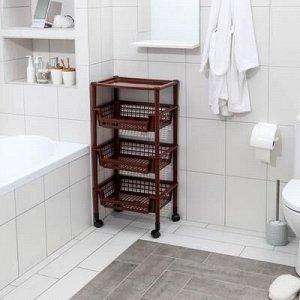 Полка для ванной комнаты, цвет МИКС