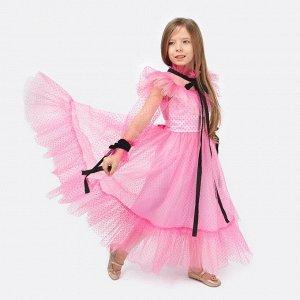 Платье Соль&Перец для девочки/Цвет: розовый