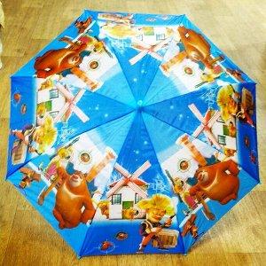 Зонт Медведи-соседи для мальчика