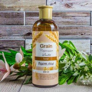 Питательный тонер с экстрактом пшеничных отрубей  Grain Premium White Toner