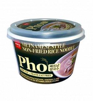 "Вьетнамский суп Фо с рисовой лапшой овощной вкус Без глютена ""VIETNAMESE RICE NOODLE soup Pho vegetable flavor Gluten Free"" 92г"