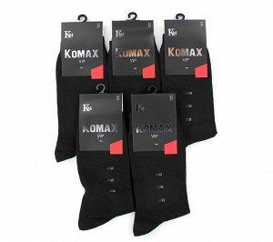 Мужские носки Komax M909 чёрные хлопок