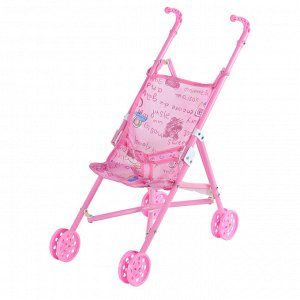 Bady Cart Коляска трость для куклы (метал) возраст 3+