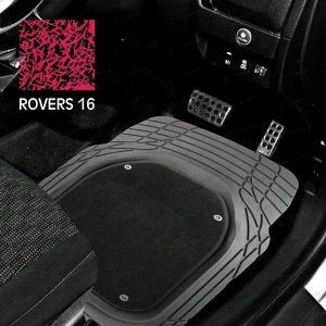 Коврики универсальные CARFORT ROVERS 16 для переднего и заднего ряда, серый цвет, ванночка, со съемным ковролином, 4шт