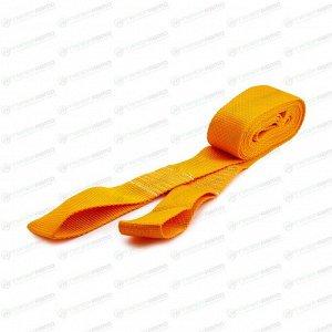 Трос буксировочный TOP AUTO, строп лента, петли, нагрузка до 5т, длина 4,5м, арт. 28412