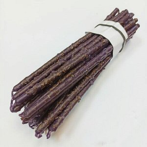 Свеча фиолетовая часовая с лавандой