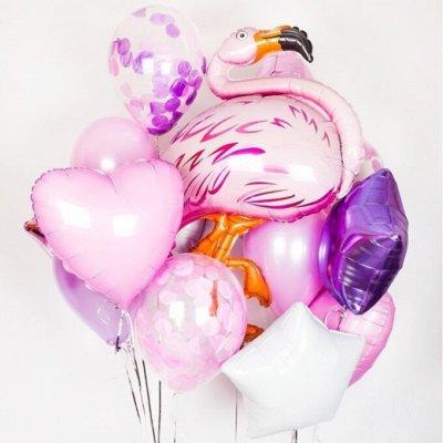 Экспресс💥Подарки для всех)  — Наборы шаров — Воздушные шары, хлопушки и конфетти