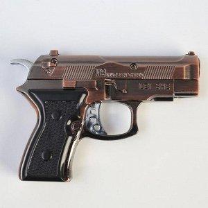 Зажигалка «Пистолет», пьезо, газ, микс