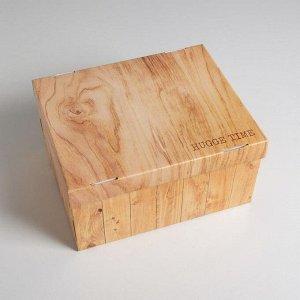 Коробка складная «Дерево», 31,2 х 25,6 х 16,1 см