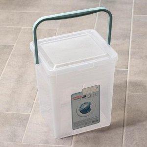 Контейнер для стирального порошка 8 л, цвет МИКС