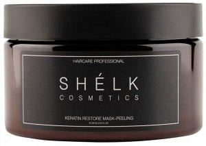 Кератиновая маска-пилинг для волос восстанавливающая