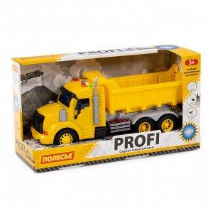 """""""Профи"""", автомобиль-самосвал инерц. (жёлтый) (в коробке) 86273 (1/8)"""