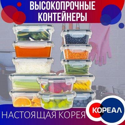 Доставка 1день🚀! Массажёры, Вещи, Приборы из Южной Кореи!  — Высокопрочные контейнеры с крышкой. Южно Корейское качество! — Контейнеры