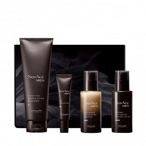 4 штук.* Комплексный уход для мужской кожи NovAge Men