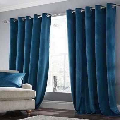 TEXTILE➕№5 - Всё для штор, мягкой мебели, текстиль для дома  — Бархат (Ширина 3м) Портьерная ткань — Шторы