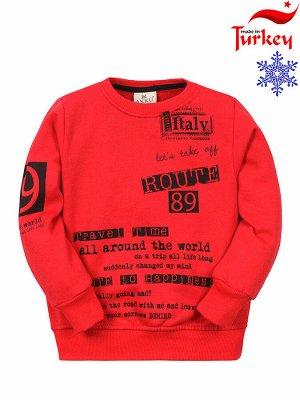 """Толстовки для мальчиков """"Italy red"""", цвет Красный"""