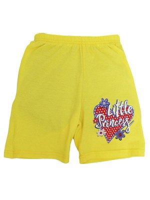 """Шорты для девочек """"Litlle"""", цвет Желтый"""