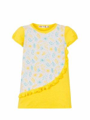 """Платья для девочек """"Conversion"""", цвет Желтый"""