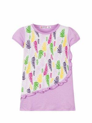 """Платья для девочек """"Coloured feathers"""", цвет Фиолетовый"""