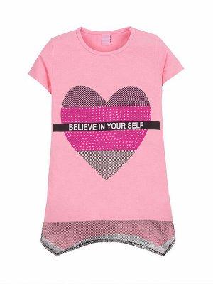 """Туники для девочек """"In your pink"""", цвет Розовый"""
