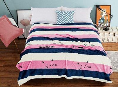 Одеяла, подушки из бамбука, Пледы