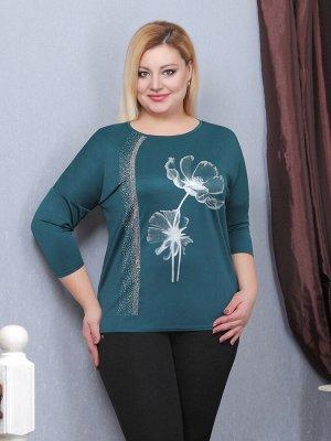 Яркая блузка-туника