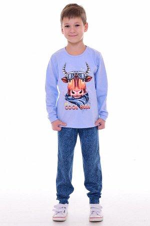 Пижама подростковая 11-040 (голубой)