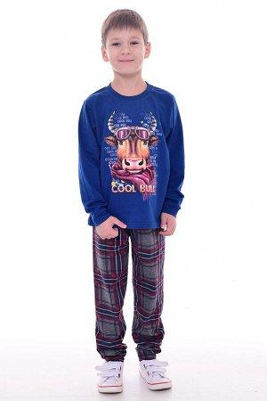 Пижама подростковая 11-039 (синий)