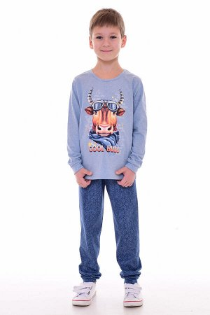 Пижама подростковая 11-042 (голубой)