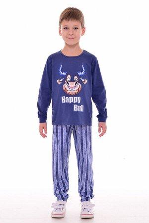 Пижама подростковая 11-038 (синий)