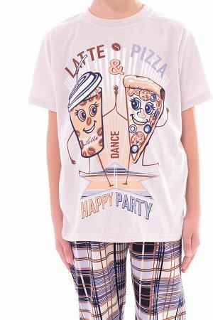 Пижама подростковая 11-032 Пицца