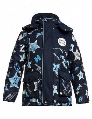 Куртка Ткань: . 100% ПЭ Куртка отBonitoKids Мембрана100% ПЭ Куртка для мальчика Теплая верхняя одежда из полиэстера прекрасно выполняет свою главную задачу – защищает малыша от холода (теплоустойчив